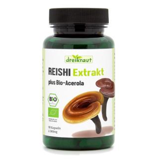Bio Reishi Extrakt kaufen Mit Vitamin C aus Bio Acerola hochdosiert
