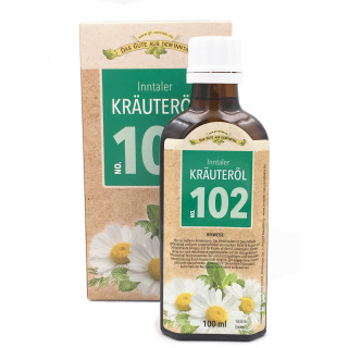 Kräuteröl 102 - mit Eukalyptus, Orange, May Chang uvm.