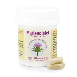 Mariendistel Kapseln à 50 mg Silymarin